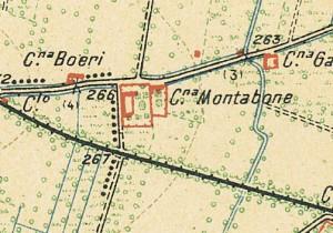 Cascina Morozzo. Istituto Geografico Militare, Pianta di Torino e dintorni, 1911. © Archivio Storico della Città di Torino