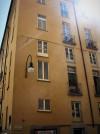Angolo dell'ex ghetto ebraico tra via des Ambrois e via San Francesco da Paola. Fotografia di Alessandro Vivanti, 2017
