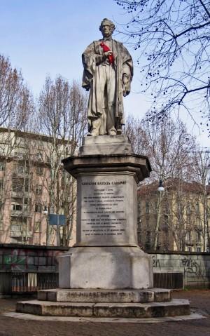 Odoardo Tabacchi, Monumento a Giovanni Battista Cassinis, 1873. Fotografia di Alessandro Vivanti, 2011. © MuseoTorino.