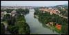 Tratto del fiume Po che costeggia il Castello del Valentino. Fotografia di Michele D'Ottavio, 2009. © MuseoTorino