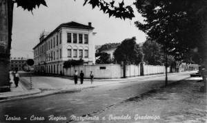 Ospedale Gradenigo, anni Cinquanta del Novecento. Cartolina di Edizioni del Capricorno