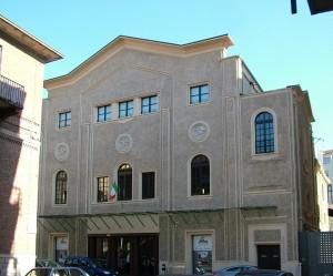 Teatro Astra, via Rosolino Pilo, facciata. Fotografia di Paola Boccalatte, 2013. © MuseoTorino