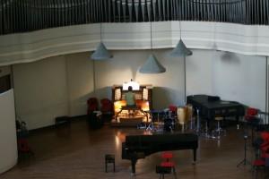 Sala per concerti del Conservatorio Giuseppe Verdi. Fotografia di Edoardo Vigo, 2012