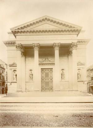 Chiesa di San Massimo. Fotografia di Mario Gabinio, 8 ottobre 1925. © Fondazione Torino Musei