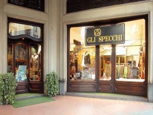 Gli Specchi, abbigliamento, vista esterna, Fotografia di Marco Corongi, 2003 ©Politecnico di Torino