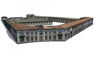 Ricostruzione tridimensionale di Sandro Ver.
