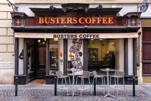 Busters coffee, ex Alla Fonte - Pizzi, Ricami, Seterie, Telerie