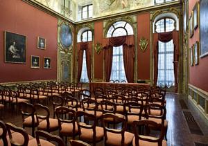 Una delle sale di Palazzo Barolo. Fotografia di Mattia Boero, 2010. © MuseoTorino.