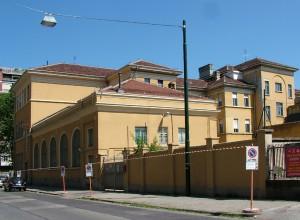 Liceo classico Camillo Benso conte di Cavour, retro. Fotografia di Paola Boccalatte, 2013. © MuseoTorino