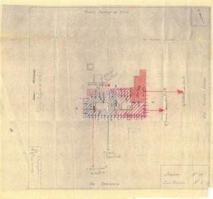 Bombardamenti aerei. Censimento edifici danneggiati o distrutti. ASCT Fondo danni di guerra inv. 33 cart. 1 fasc. 33. © Archivio Storico della Città di Torino