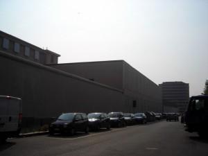 L'istituto Ferrante Aporti lato meridionale. Fotografia di Silvia Bertelli