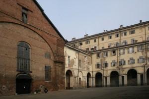 Cavallerizza e settore orientale della manica affacciata sui Giardini Reali. Fotografia di Enrico Lusso per Museo Torino