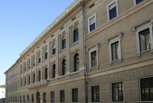 Il fronte posteriore su via Guicciardini. Fotografia di Caterina Franchini per MuseoTorino.