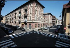 Secondo gruppo di case della Società torinese per abitazioni popolari (STAP), vie Verzuolo, Revello e Luserna