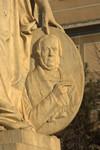 Monumento a Daniele Manin, particolare del medaglione. Fotografia di Giuseppe Caiafa, 2011.