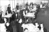 Refezione presso la scuola Vidari. © Archivio della scuola Vidari