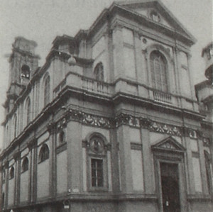 Facciata della chiesa del Carmine