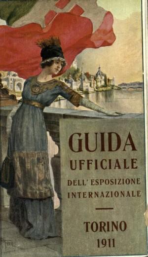 Guida ufficiale della Esposizione internazionale: Torino 1911, copertina