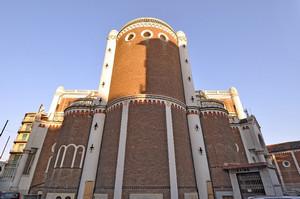 Parrocchia di Maria Regina della Pace (particolare). Fotografia di Mauro Raffini, 2010. © MuseoTorino