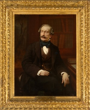 Francesco Gonin, Ritratto di Massimo d'Azeglio, 1860. © Museo Nazionale del Risorgimento Italiano di Torino.