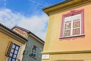 Artista non identificato, murale senza titolo, s.d., via Musinè ang. via Ceres, MAU Museo Arte Urbana. Fotografia di Roberto Cortese, 2017 © Archivio Storico della Città di Torino