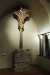 Resti di bifora della basilica di San Salvatore. Palazzo Madama - Museo Civico d'Arte Antica. Fotografia di Paolo Gonella, 2010. © MuseoTorino e Fondazione Torino Musei