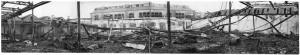 Via Cigna 115. Stabilimento FIAT, Sezione Ind. Metallurgiche (S.I.M.A.). Effetti prodotti dai bombardamenti dell'incursione aerea del 29-30 novembre 1942. UPA 2457_9F02-26. © Archivio Storico della Città di Torino