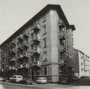 Piccolo nucleo di case di civile abitazione.