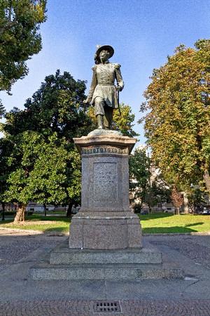 Giuseppe Cassano, Monumento ad Alessandro Ferrero La Marmora, 1867. Fotografia di Mattia Boero, 2010. © MuseoTorino.