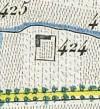 Cascina Crema, già Cavour. Antonio Rabbini, Topografia della Città e Territorio di Torino, 1840, © Archivio Storico della Città di Torino