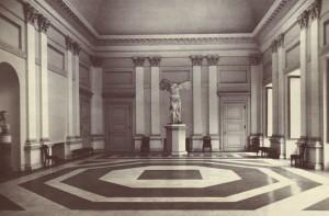 Accademia Albertina, Salone. Fotografia di Augusto Pedrini, 1950 ca.