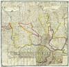 Giovanni Amedeo Grossi, Carta corografica dimostrativa del territorio della Città di Torino. © Archivio Storico della Città di Torino