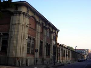 Caserma Amione, accesso secondario da via Brione 1. Fotografia di Silvia Bertelli