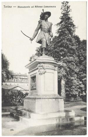 Giuseppe Cassano e Giuseppe Dini, Monumento ad Alessandro Ferrero della Marmora, 1867. © Archivio Storico della Città di Torino