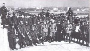 1940, il corpo di protezione antiaerea. © Archivio Storico AMMA