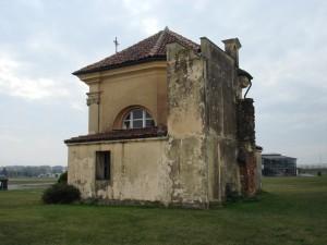 Prospetto settentrionale della cappella Tarino. Fotografia di Gianfranco Ingardia, 2012.