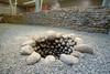 Il pozzo che si trova nell'area aperta dell'edificio antico, © Soprintendenza per i Beni Archeologici del Piemonte e del Museo Antichità Egizie.