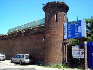 Torretta d'avvistamento sull'angolo Sud-Ovest del muro di cinta. Fotografia di Silvia Bertelli.