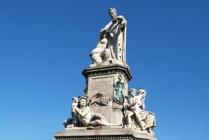 Giovanni Duprè, Monumento a Camillo Benso Conte di Cavour (gruppo scultoreo), 1865-1873. Fotografia di Fabrizia Di Rovasenda, 2010. © MuseoTorino.