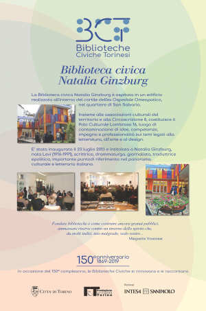 1869-2019. Biblioteca civica Natalia Ginzburg