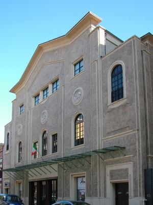 Teatro Astra, via Rosolino Pilo. Fotografia di Paola Boccalatte, 2013. © MuseoTorino
