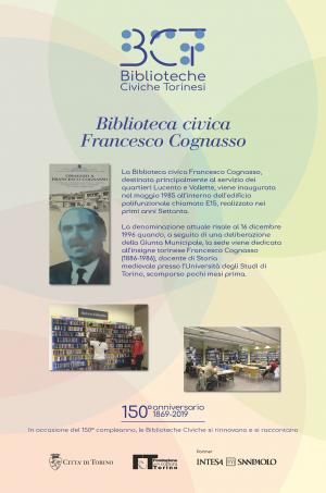 1869-2019. Biblioteca civica Francesco Cognasso