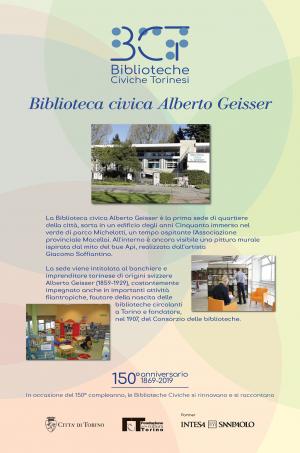 1869-2019. Biblioteca civica Alberto Geisser