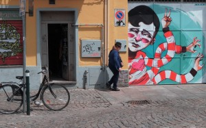 Bans, Jaman, murale senza titolo, 2015, borgata Tesso