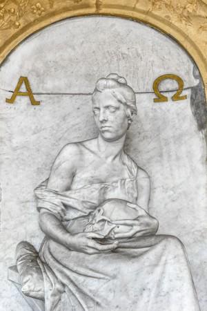 13AII Pietro Canonica (1869-1959), Tomba Cornagliotto, 1893 (Arcata 205). Fotografia di Roberto Cortese, 2018