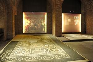 Museo di Antichità. Mosaici della domus di via Bonelli. Fotografia di Giacomo Lovera, 2013. © Soprintendenza per i Beni Archeologici del Piemontee del Museo Antichità Egizie
