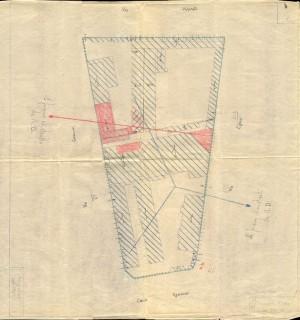 Bombardamenti aerei. Censimento edifici danneggiati o distrutti. ASCT Fondo danni di guerra inv. 1724 cart. 36 fasc. 30. © Archivio Storico della Città di Torino