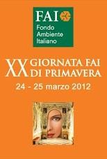 XX Giornata FAI di Primavera, 24-25 marzo 2012