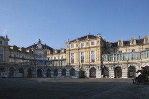 La corte interna. Fotografia di Enrico Lusso per MuseoTorino.