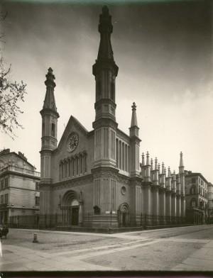Tempio Valdese. Fotografia di Mario Gabinio, 1925-1926. © Fondazione Torino Musei - Archivio fotografico